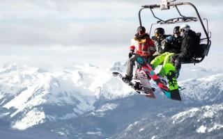 Ski wear fashion.