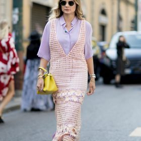 The floral midi dress: from day to night