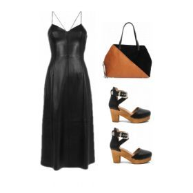 How should you wear a leather dress?