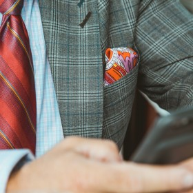 Men's Pocket Square's