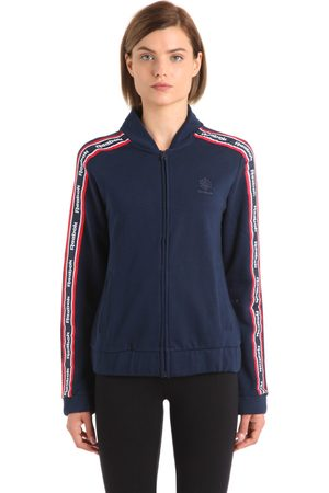 4711 COTTON TRACK JACKET WITH LOGO BANDS