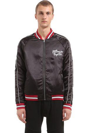BBC-BILLIONAIRE BOYS CLUB Reversible Embroidered Bomber Jacket