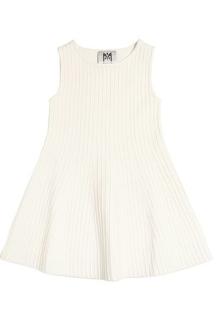 MILLY MINIS COTTON BLEND KNIT DRESS