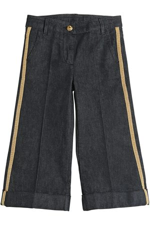 Moncler STRETCH DENIM JEANS W/ LUREX BANDS