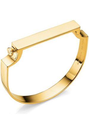 Monica Vinader Bracelets - Gold Signature Bangle
