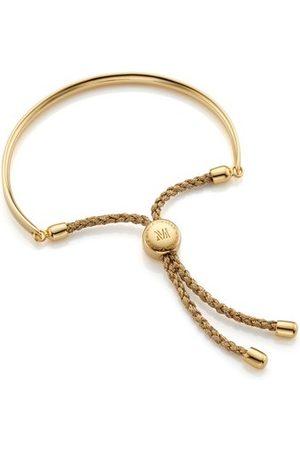 Monica Vinader Women Bracelets - Fiji Friendship Bracelet - Metallica, Gold Vermeil on Silver