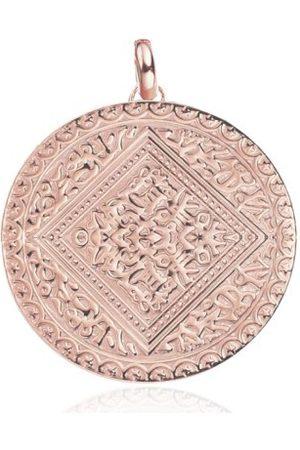 Monica Vinader Marie Pendant, Rose Gold Vermeil on Silver
