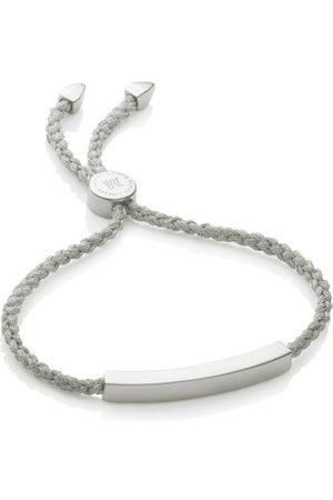 Monica Vinader Linear Friendship Bracelet, Sterling Silver