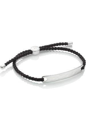 Monica Vinader Havana Men's Friendship Bracelet, Sterling Silver