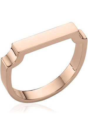 Monica Vinader Rose Gold Signature Ring