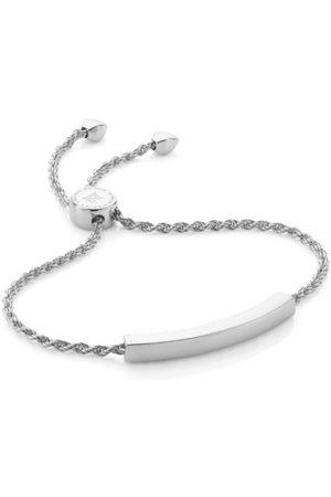 Monica Vinader Linear Chain Bracelet, Sterling Silver