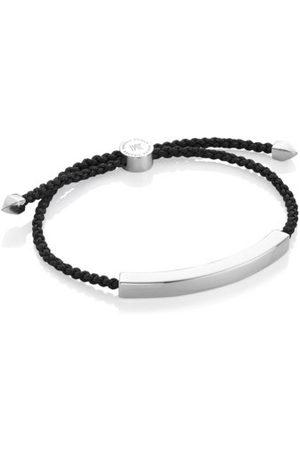 Monica Vinader Sterling Silver Linear Large Friendship Bracelet