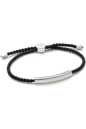 Monica Vinader Linear Men's Friendship Bracelet, Sterling Silver