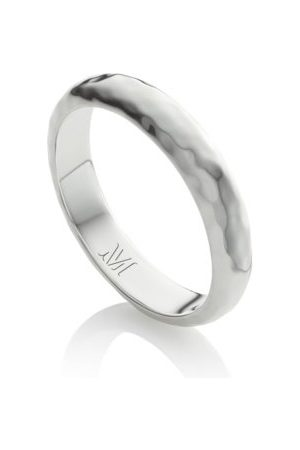 Monica Vinader Sterling Silver Alta Thin Ring