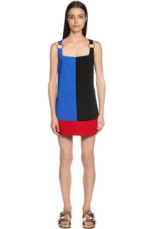 FAUSTO PUGLISI Women Dresses - Color Block Cady Dress