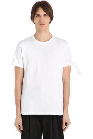 J.W.Anderson Men T-shirts - SINGLE KNOT COTTON JERSEY T-SHIRT