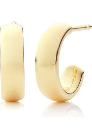 Monica Vinader Gold Fiji Mini Hoop Earrings