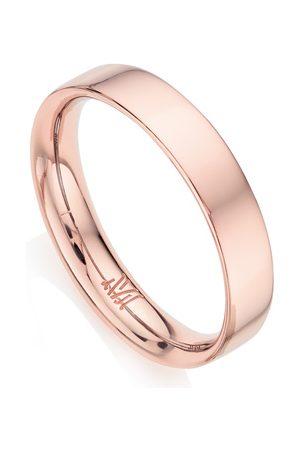 Monica Vinader Women Rings - Rose Gold Fiji Band Stacking Ring