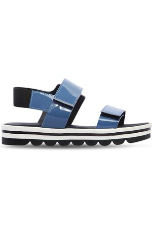 Marni PATENT LEATHER SANDALS