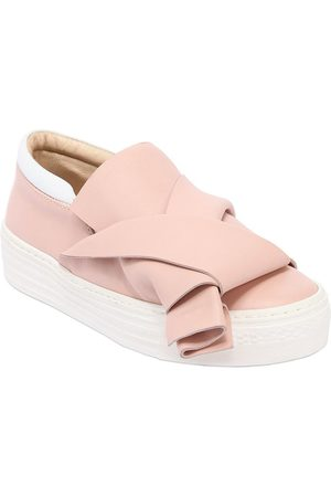 Nº21 LEATHER SLIP-ON SNEAKERS