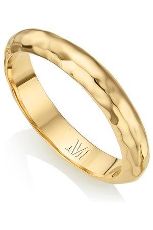 Monica Vinader Gold Havana Thin Ring