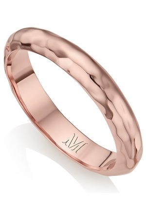 Monica Vinader Rose Gold Havana Thin Ring