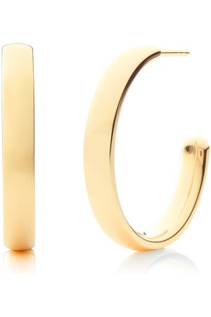 Monica Vinader Gold Fiji Large Hoop Earrings