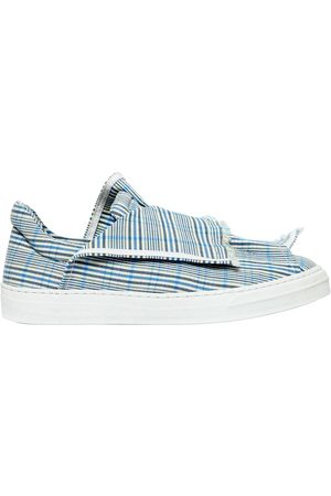 PORTS 1961 20MM LAYERED CHECK CANVAS SNEAKERS
