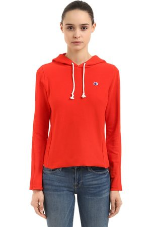 Champion Women Sweaters - LOGO RECYCLED FRENCH TERRY SWEATSHIRT