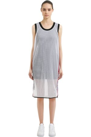 Nike Women Casual Dresses - LAB X RT MESH DRESS W/ DRAWSTRINGS