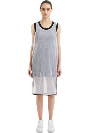 Nike Women Casual Dresses - LAB X RT MESH DRESS W/ DRAWSTRINGS