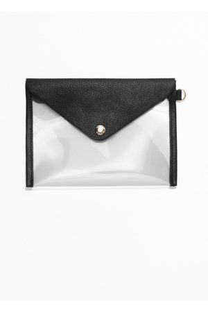 & OTHER STORIES A6 Leather & Transparent Purse