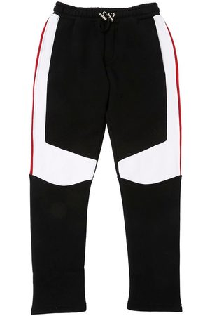 Balmain COLOR BLOCK COTTON SWEATPANTS