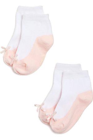 Ralph Lauren Girls' Ballerina Socks, 2 Pack - Baby