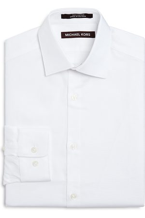 Michael Kors Boys' Tonal Stripe Dress Shirt - Big Kid