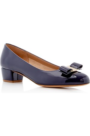 Salvatore Ferragamo Women's Vara Patent Leather Pumps