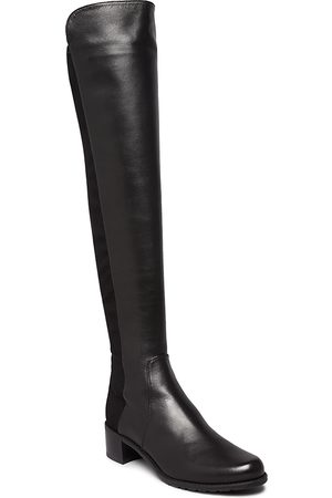 Stuart Weitzman Women's Reserve Leather Over-the-Knee Boots