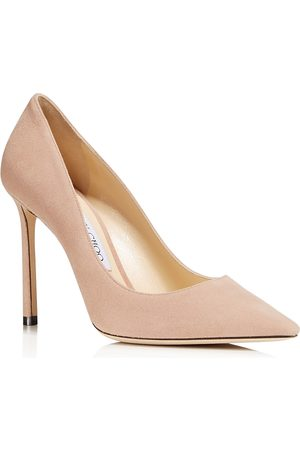 Jimmy choo Women Heels - Women's Romy 100 Pointed-Toe Pumps