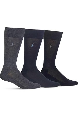 Ralph Lauren Cushioned Crew Socks - Pack of 3