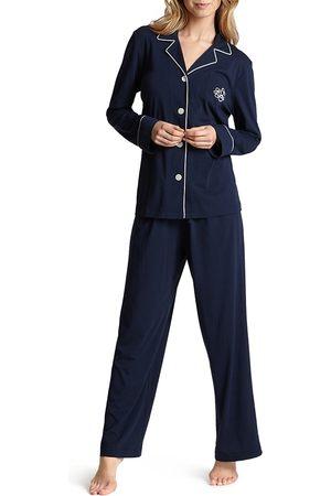 Ralph Lauren Lauren Hammond Knits Classic Pajama Set