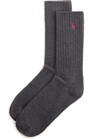Ralph Lauren Ribbed Crew Socks