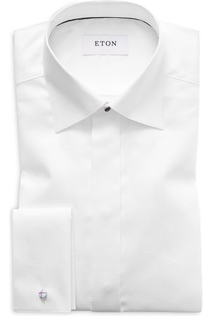 Eton Of Sweden Diamond Weave Slim Fit Tuxedo Shirt