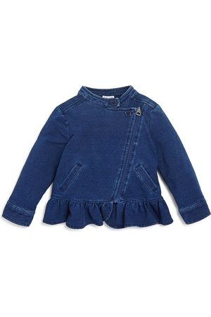 Splendid Girls' Denim Look Knit Jacket - Baby