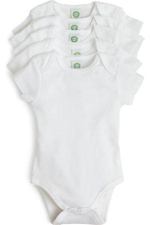 Little Me Unisex Basic Bodysuit, 5 Pack - Baby