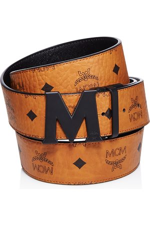 MCM Reversible Signature Belt