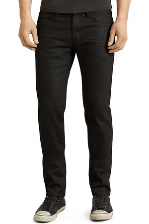 John Varvatos Bowery Slim Straight Fit Jeans in Jet