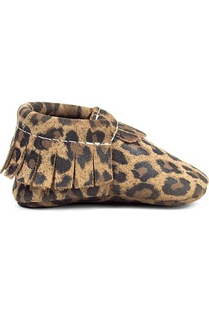 Freshly Picked Infant Girls' Leopard Moccasins - Baby