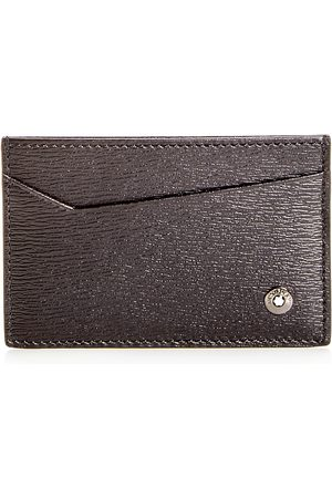 Mont Blanc Westside Embossed Leather Card Case
