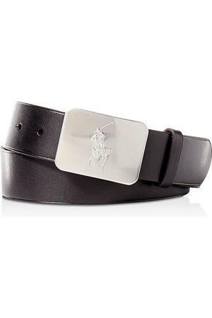 Ralph Lauren Polo Vaccetta Leather Belt