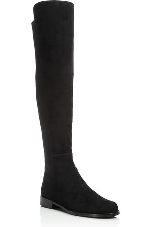 Stuart Weitzman Women's 5050 Stretch Suede Over-the-Knee Boots